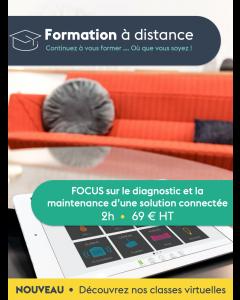 FAD - FOCUS sur le diagnostic et la maintenance d'une solution connectée