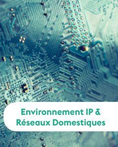 ENVIRONNEMENT IP & RÉSEAUX DOMESTIQUES